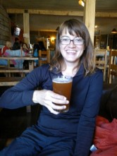 Clare gets stuck into the Baguales Pale Ale