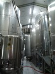 Inside the brewing room