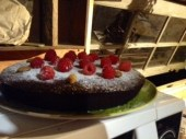 Day 228: Clare´s Crackin´Choccy & Raspberry Cake