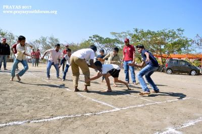 Inter school kabaddi competition at KhaireNagar - Pune region