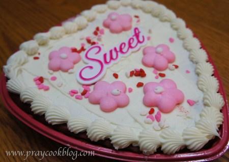 V Day Red Velvet Cake