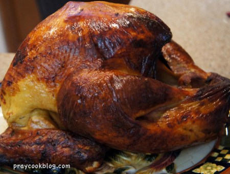 Brined Turkey BBQ