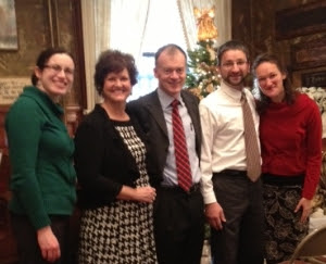 Christmas Tea and Installation Ceremony With Friends From Nashville