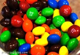 Bowl of M & M