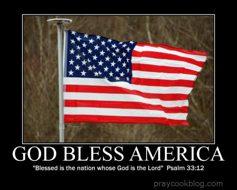 God Bless American Psalm 33-12 copy