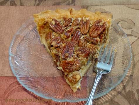 Vanilla Cheesecake Pecan Pie