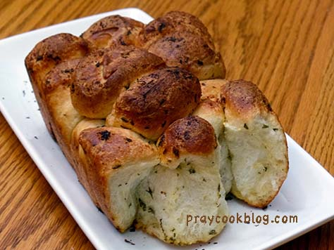 Savory Monkey Bread Partial