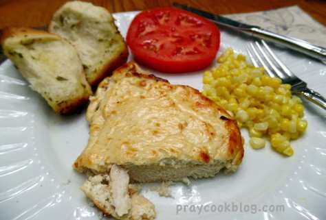 moist melt in mouth chicken plated