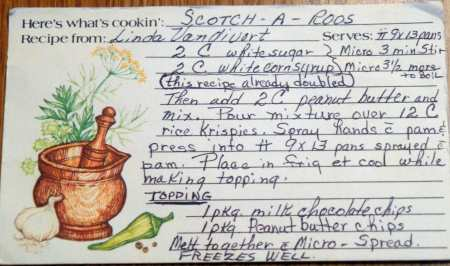 Scotch-a-roos Grandma Recipe