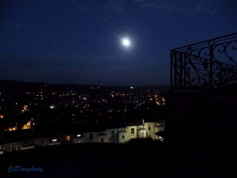 Moon Over Bath