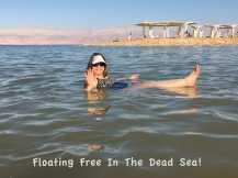 I'm Free in Dead Sea!