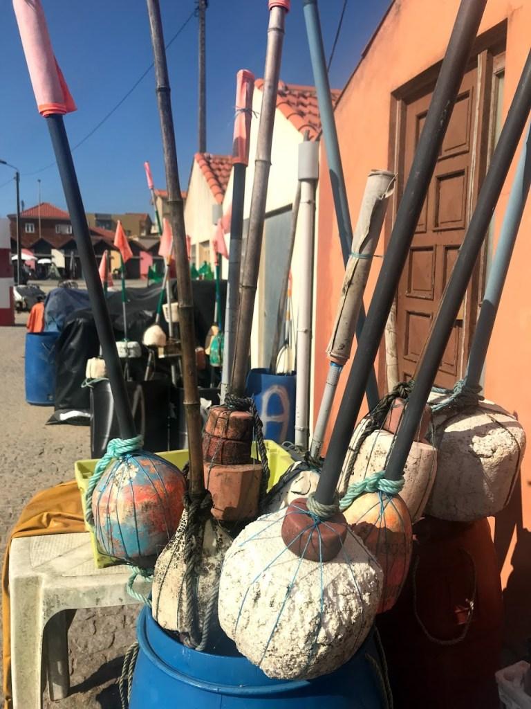 Quaint fishing village in portugal