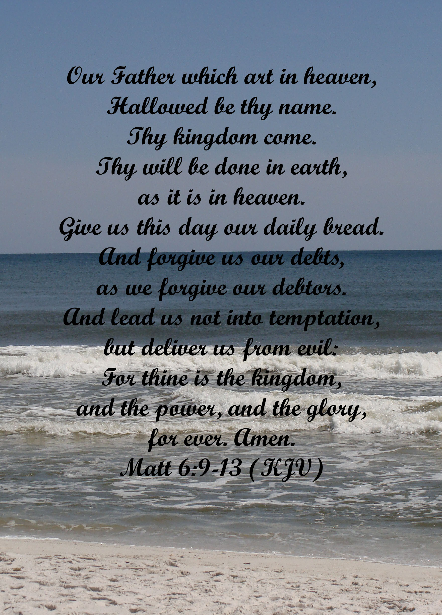 How To Pray Using The Lord S Prayer Part 1 Prayer In