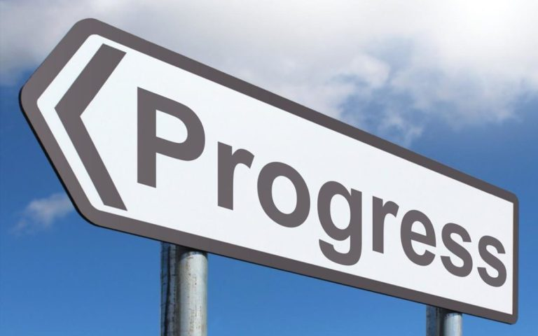 IT IS TIME TO MAKE PROGRESS