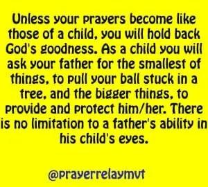 limitations in prayer
