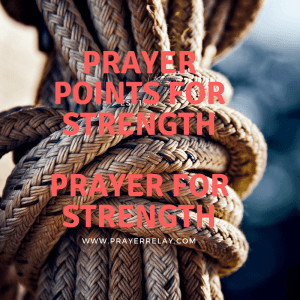 186 bold Prayer for Strength Points with Bible Verses