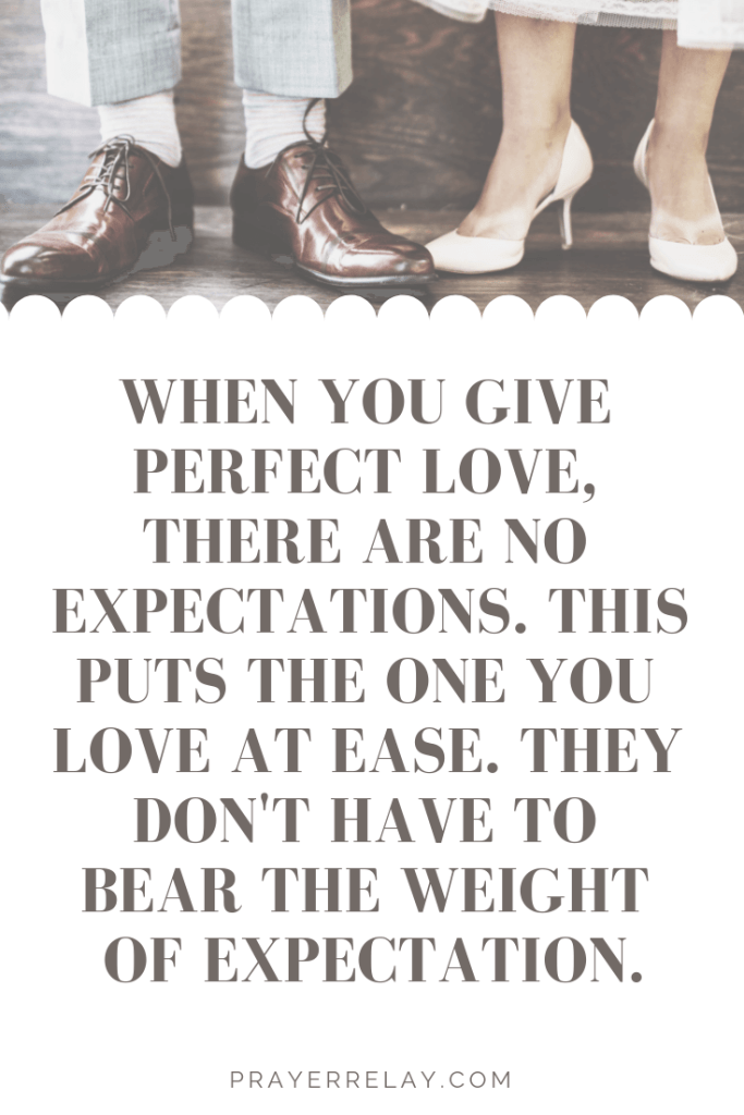 perfect love casts out all fear quote