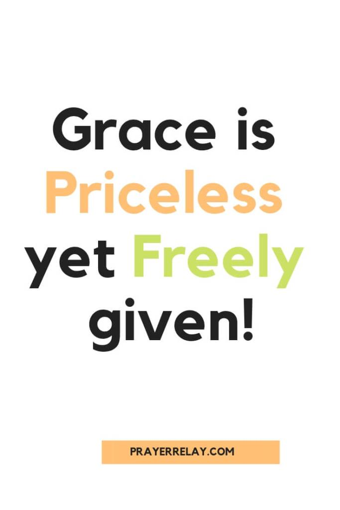 grace is priceless