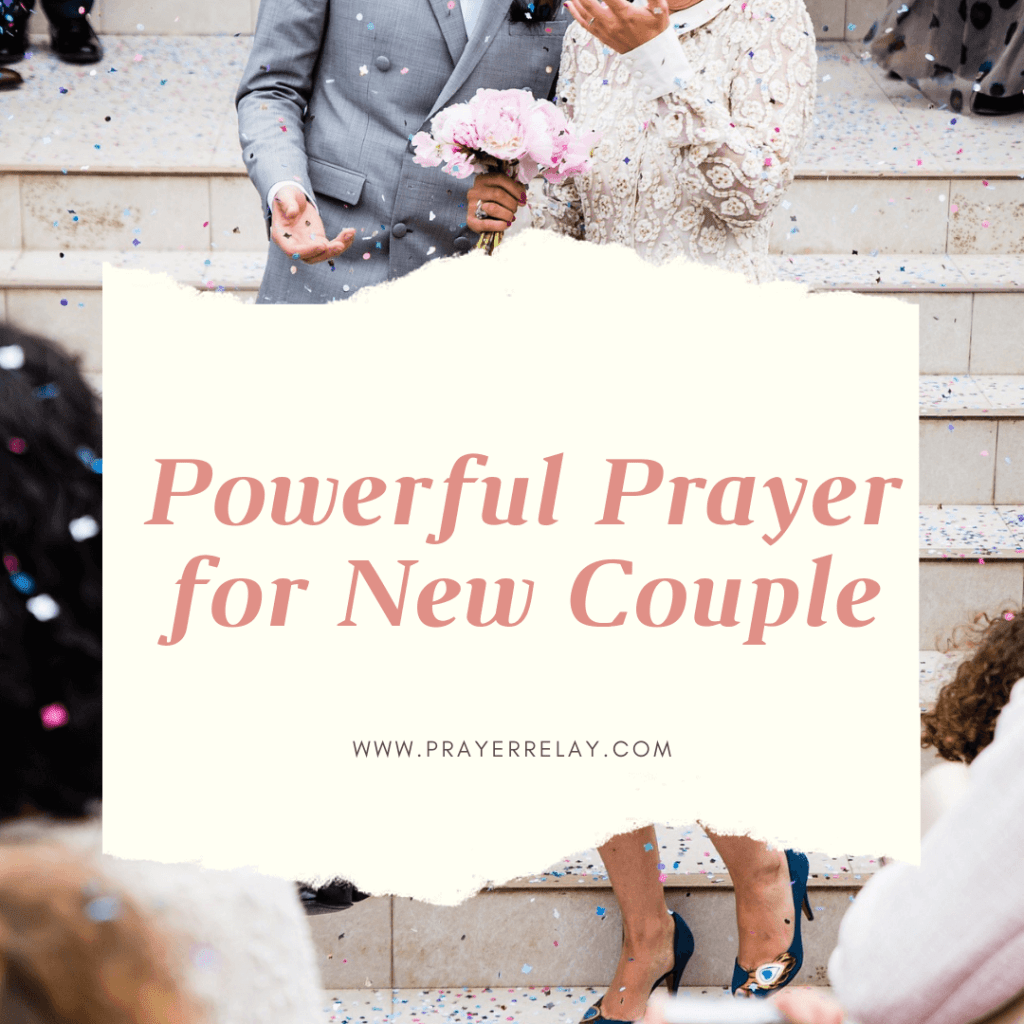 Powerful Prayer for New Couple