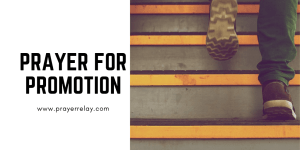Prayer for promotion
