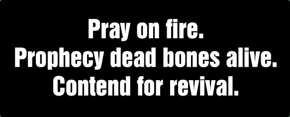 Pray on Fire