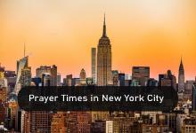 Photo of Prayer times NYC, (New York City) United State Of America
