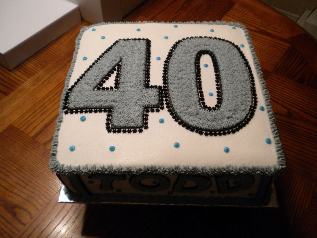 40th Birthday Cake Ideas For Men Birthday Cake