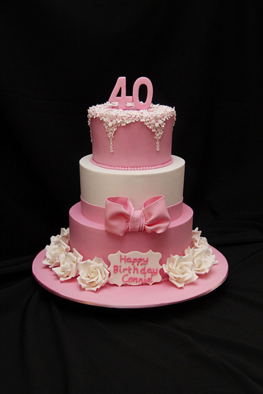 40th Birthday Cakes Recipe Birthday Cake