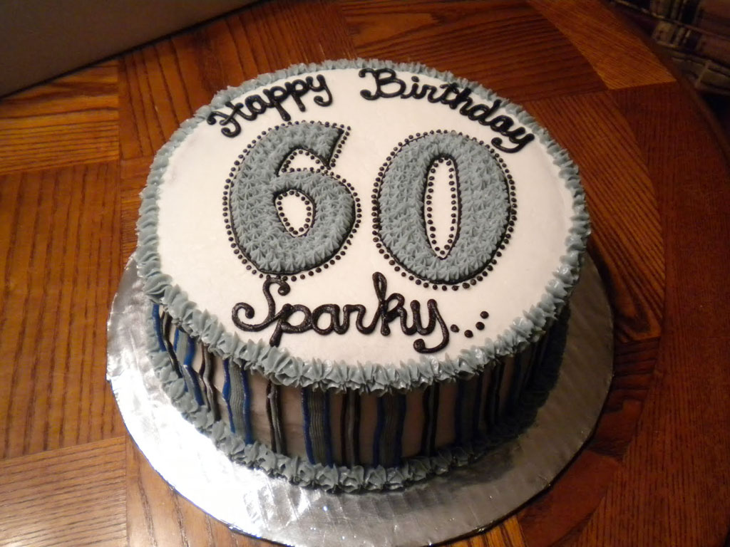 60th Birthday Cake Ideas For Men Birthday Cake