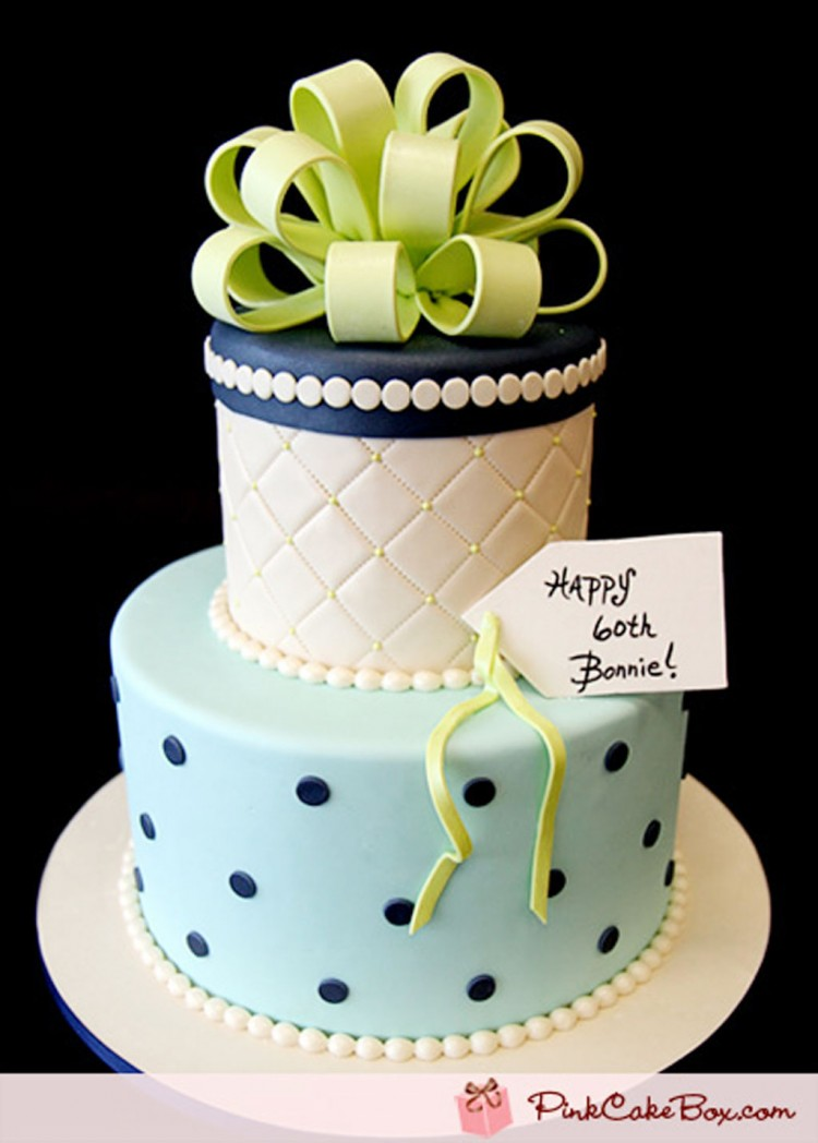 60th Birthday Cake Ideas