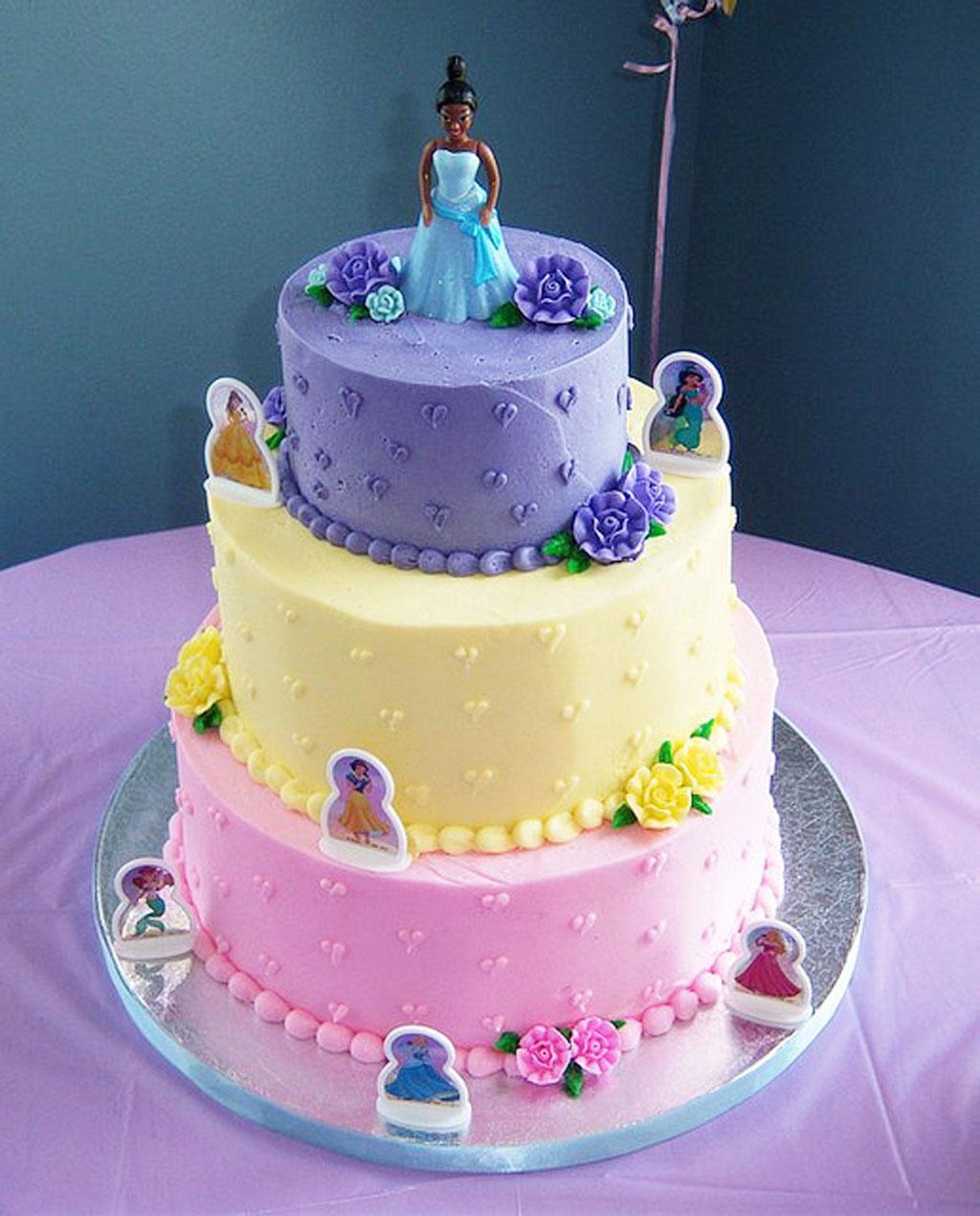Disney Princess Birthday Cake Birthday Cake
