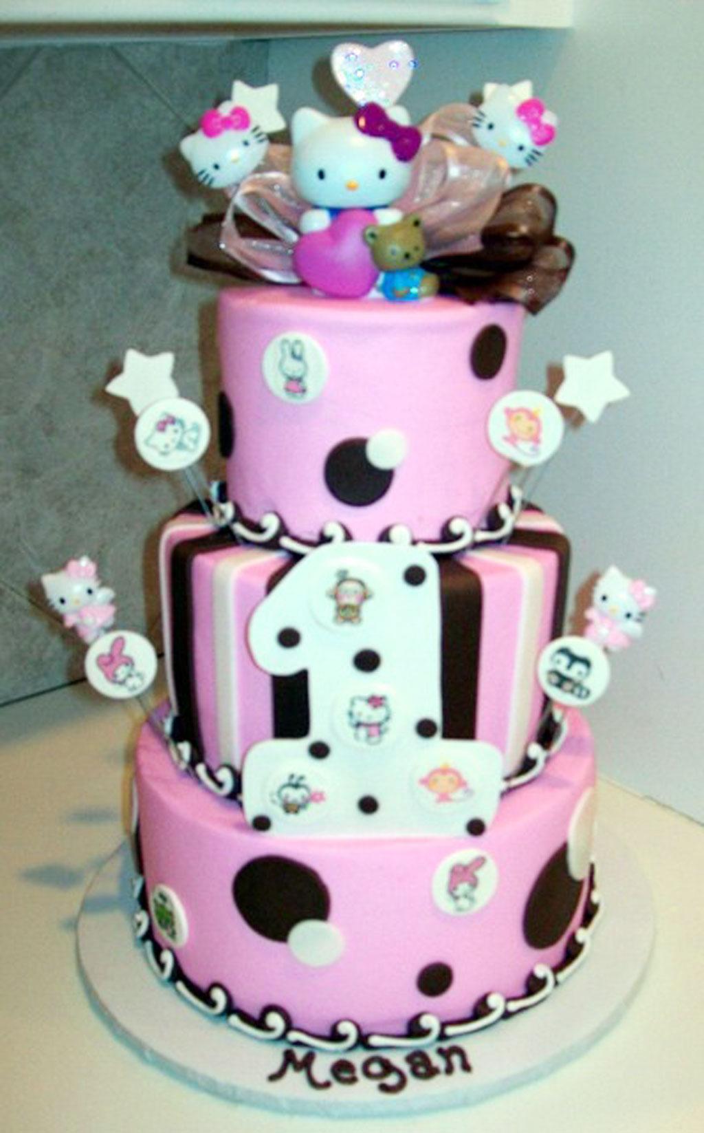 Hello Kitty Birthday Cake For Kids Birthday Cake