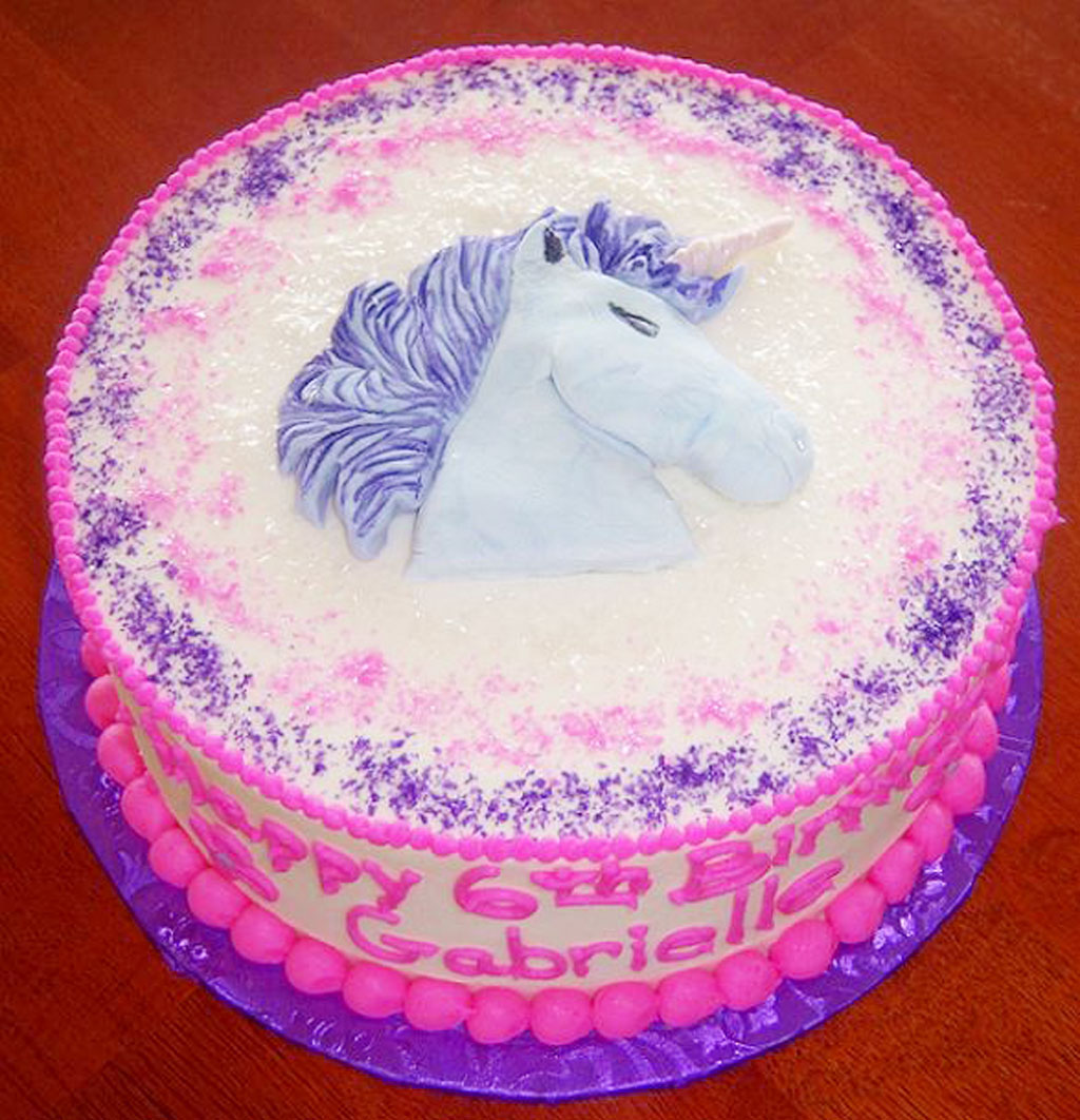 Unicorn Birthday Cakes Birthday Cake