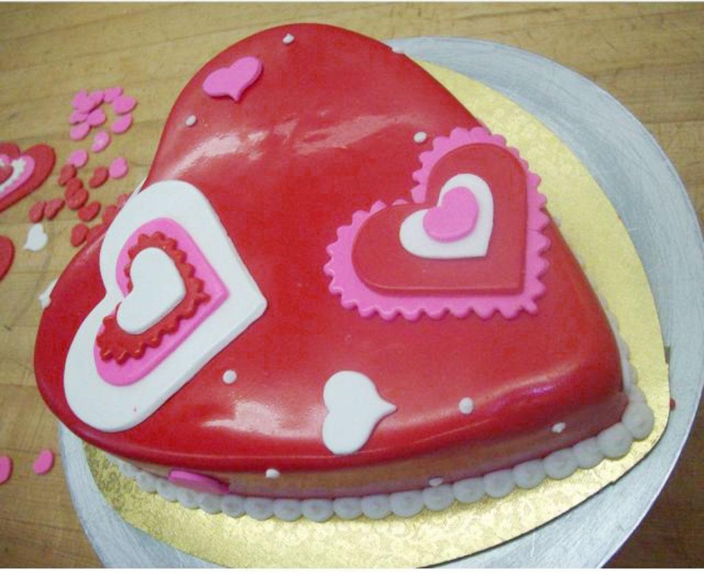 Valentine Heart Shaped Cake Valentine Cakes