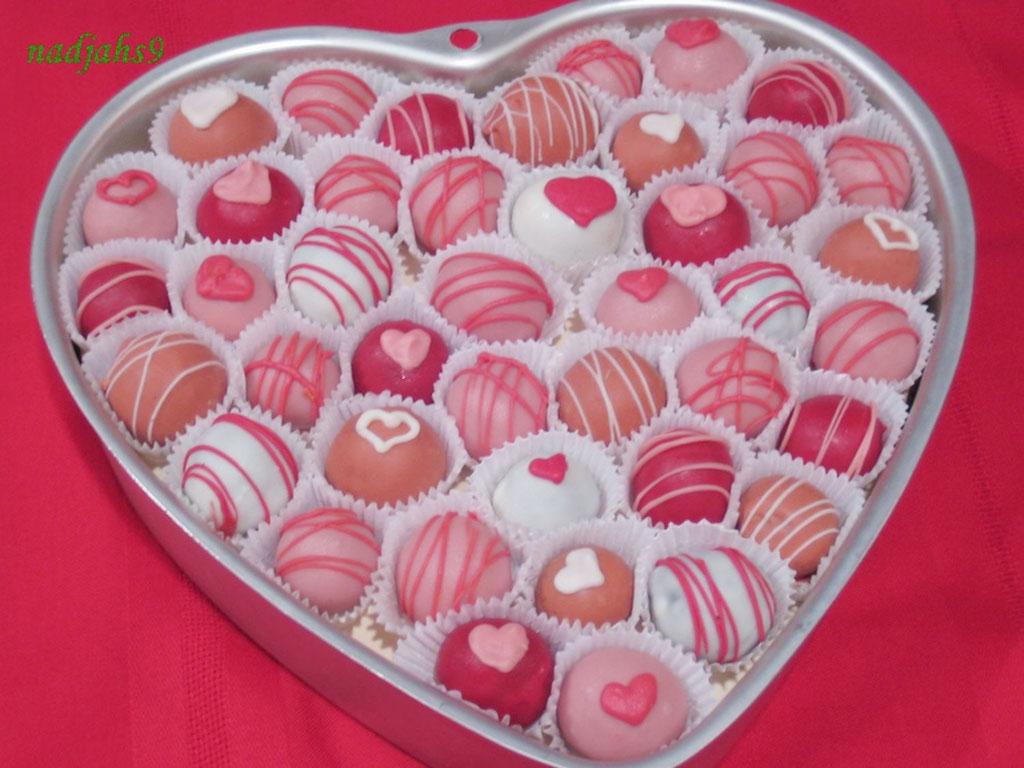 Valentine S Day Cake Balls Recipe