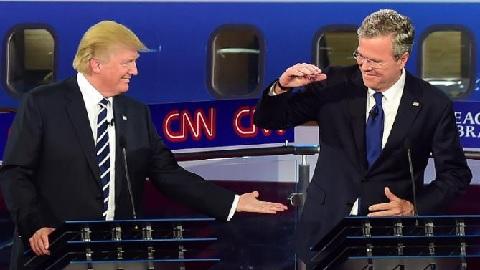 trump bush cnn debate