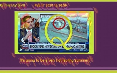 Qanon February 18, 2020 – It's Going To Be A Hot Summer