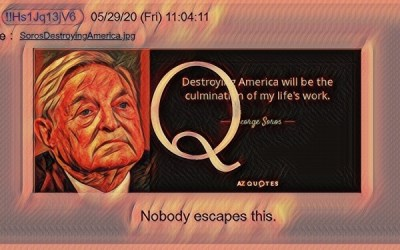 Qanon May 29, 2020 – Nobody Escapes This
