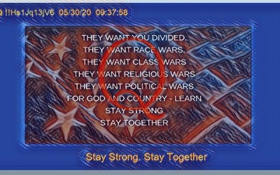 Qanon May 3, 2020 – Stay Strong, Stay Together