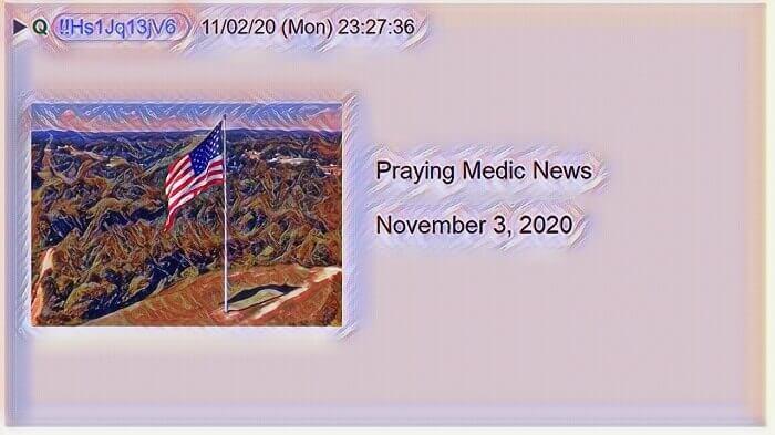 praying medic qanon news