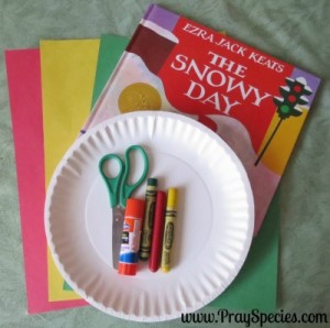 snowy day _ traffic light supplies