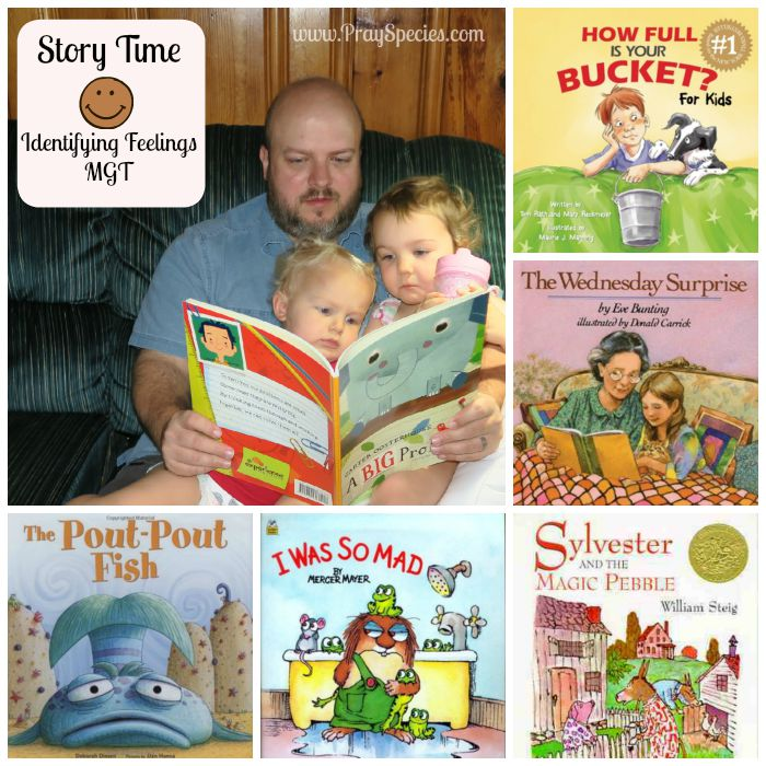 story time collage