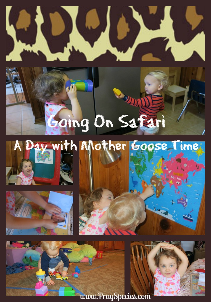going on safari head Collage