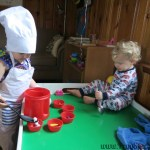Cleaning and Safety (A Day with Mother Goose Time)