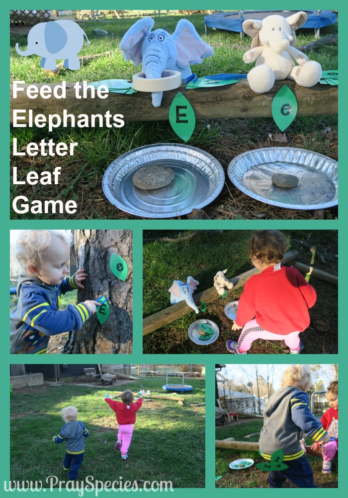 Pinterest Letter Leaf Game Collage