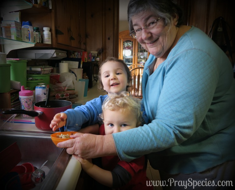 cooking is a family affair