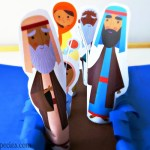 Discover Moses in the Desert Preschool Crafts