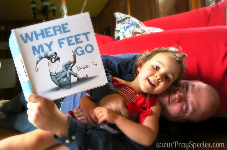 Where My Feet Go Book With Daddy