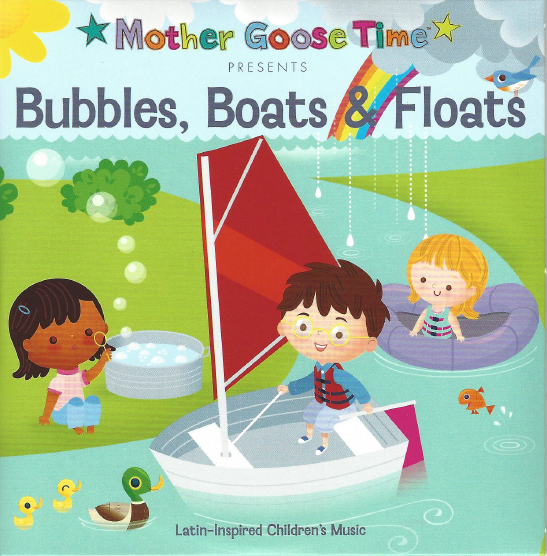 bubbles boats and floats CD
