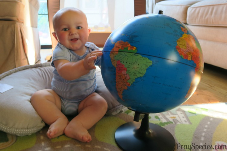 Baby World Globe Give Your Child the World